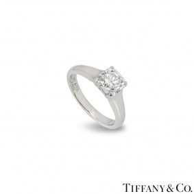 Tiffany & Co. Lucida Cut Diamond Ring 1.27ct E/VS1